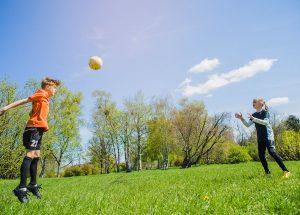 Ekip ruhu için futbol