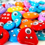 Vernikli taş boyama örneği - Pinterest