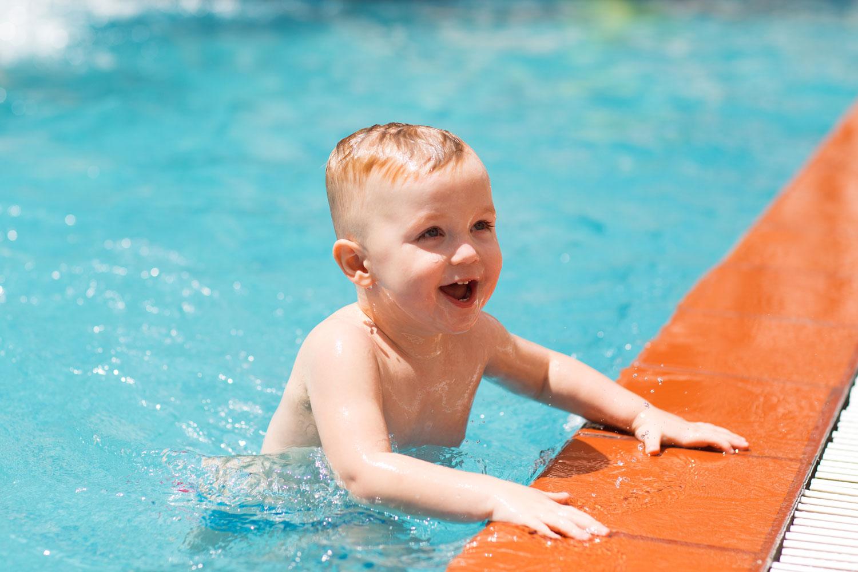 Çocuklarda yüzme eğitimi
